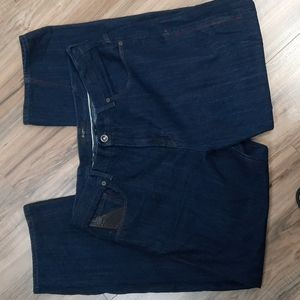 Sean Jean Dark Rinse Mens Jeans Size 40x35